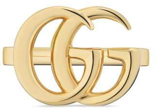 Gucci GG Running yellow gold ring