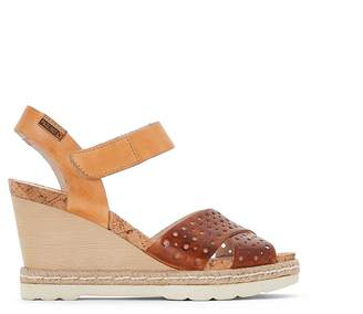 PIKOLINOS Bali Leather Wedge Sandals