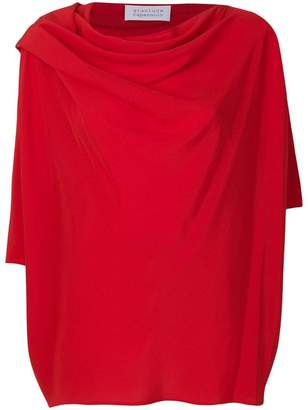 Gianluca Capannolo draped neck blouse