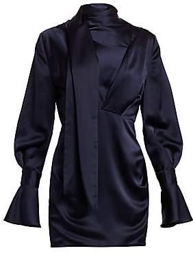 Acler Women's Soto Draped Mini Dress