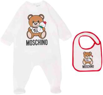 Moschino Suit With Bibs And Print