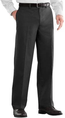 Croft & Barrow Men's Classic-Fit Easy-Care Stretch Flat-Front Pants