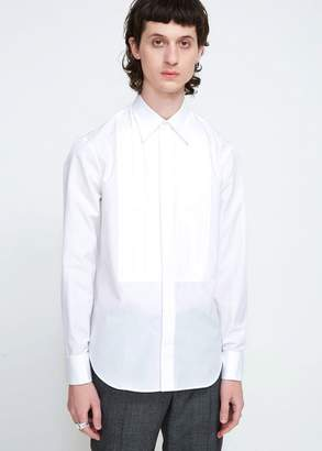 Maison Margiela Regular Fit Poplin Tuxedo Shirt