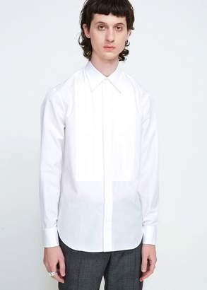 Maison Margiela Regular Fit Poplin Tuxedo Shirt