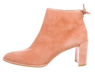 Stuart Weitzman Suede Ankle Boots w/ Tags