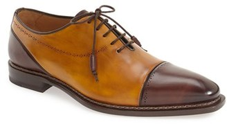 Men's Mezlan 'Antico' Cap Toe Oxford $425 thestylecure.com