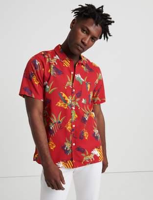 Lucky Brand Cuba Tencel Club Collar Shirt