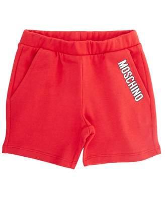 Moschino Jersey Logo Shorts