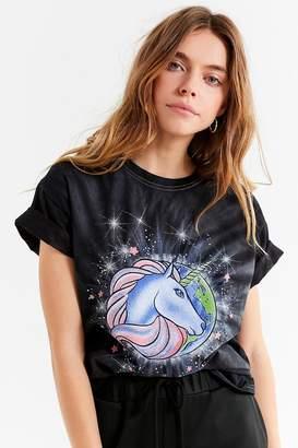 Junk Food Clothing Tie-Dye Unicorn Tee