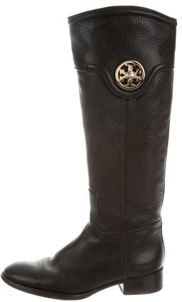 Tory BurchTory Burch Logo-Embellished Riding Boots