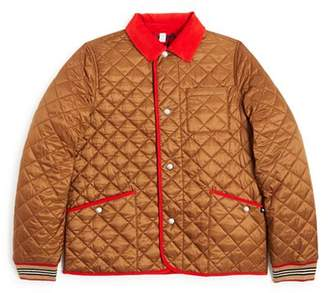 Burberry Boys' Culford Quilted Bomber Jacket - Little Kid, Big Kid