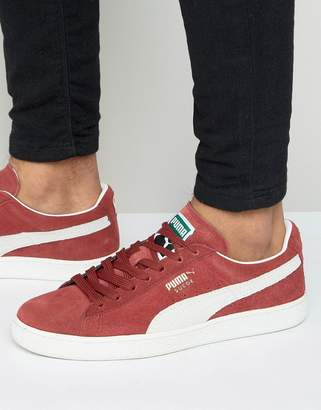 2aa7b42d2cd4ca Puma Red Suede Shoes For Men - ShopStyle UK