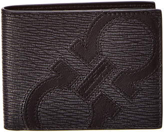 Salvatore Ferragamo Gancio Leather Bifold Wallet