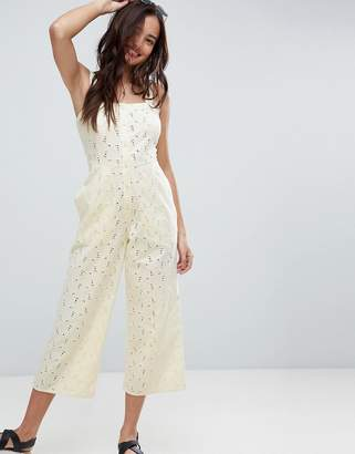 Asos Jumpsuit in Broderie