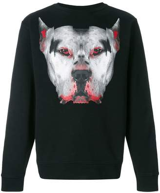 Marcelo Burlon County of Milan Dogo crew-neck sweatshirt