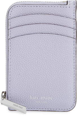 Kate Spade Margaux Leather Zip Card Holder