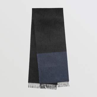 Burberry Colour Block Cashmere Scarf