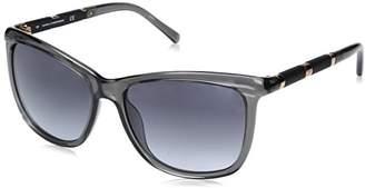 Diane von Furstenberg Women's DVF609S Hannah Square Sunglasses