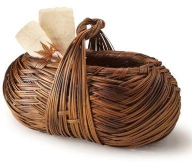 Cross-Weave Artisan Basket