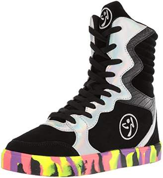 Zumba Women's Street Elevate Fashion Dance Workout Shoes High Ankle Support Sneaker