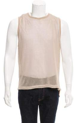 Dries Van Noten Sheer Mesh Top