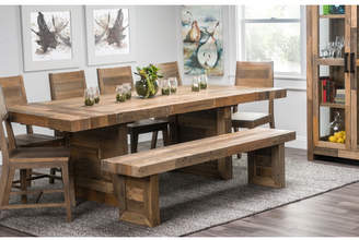 "Loon Peak Needham 95"" Extendable Dining Table"