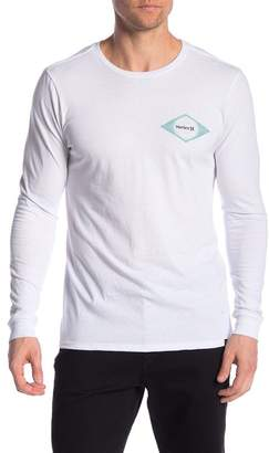 Hurley Brush Burst Long Sleeve Tee