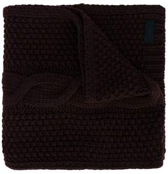 Paolo Pecora Kids cable knit scarf
