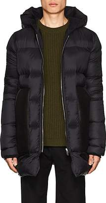 Rick Owens Men's Shearling-Detailed Oversized Puffer Coat - Black