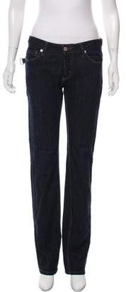 Zadig & Voltaire Mid-Rise Straight-Leg Jeans