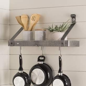 Enclume USA Handcrafted Gourmet Wall Mounted Pot Rack