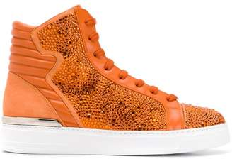 Philipp Plein crystal embellished sneakers