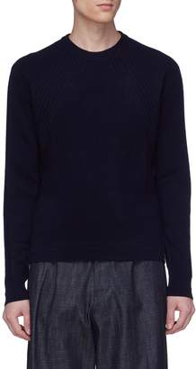 Wooyoungmi Panelled cashmere sweater