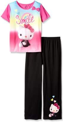 Hello Kitty Big Girls 2 Piece Polyester Pant Set
