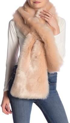 La Fiorentina Shaggy Faux Fur Wrap