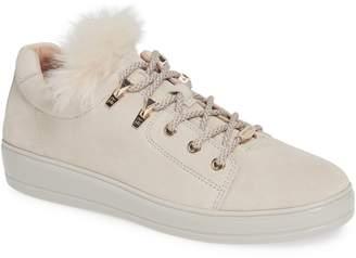 Taryn Rose Georgy Faux Fur Trim Weatherproof Sneaker