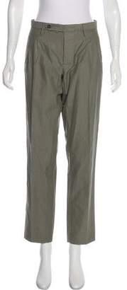 Incotex High-Rise Straight-Leg Pants