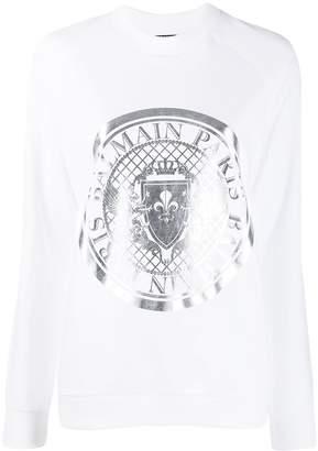 Balmain Medallion print sweatshirt