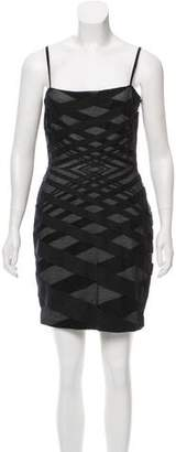 Robert Rodriguez Sleeveless Mini Dress