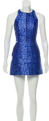 Richard Nicoll Mini Patterned Dress