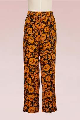 Kenzo Silk Jogging Pants