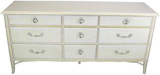 One Kings Lane Vintage Midcentury 9-Drawer Dresser - Vintage Bella Home