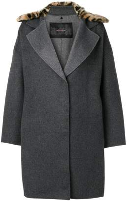 Ash boxy coat
