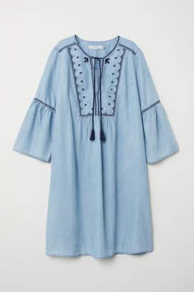 H&M Lyocell Denim Tunic - Blue