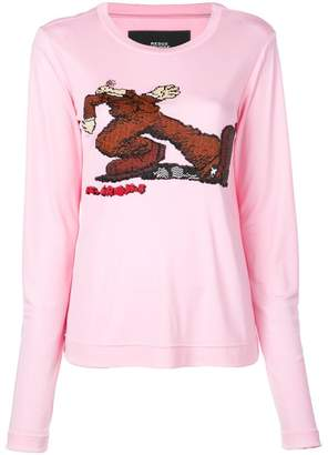 Marc Jacobs stomp print sweater