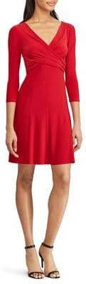 Chaps Jersey Fit--Flare Day Dress