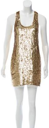 Haute Hippie Sequin Sleeveless Dress