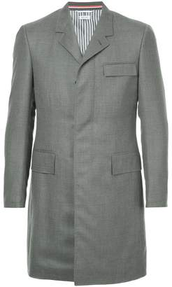 Thom Browne Super 120s Chesterfield Overcoat