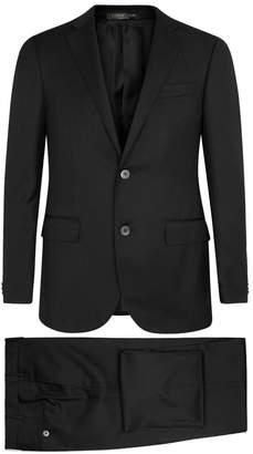 Corneliani Black Super 110's Wool Suit