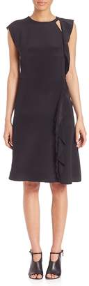 3.1 Phillip Lim Women's Silk Ruffle Dress